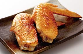 純和赤鶏手羽塩焼
